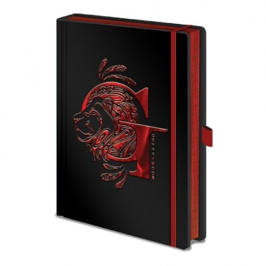 Cuaderno A5 Harry Potter Griffindor