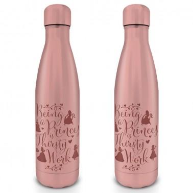 Botella metálica Princesas Thirsty Work