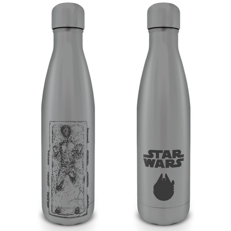 Botella metálica Star Wars Han Carbonita