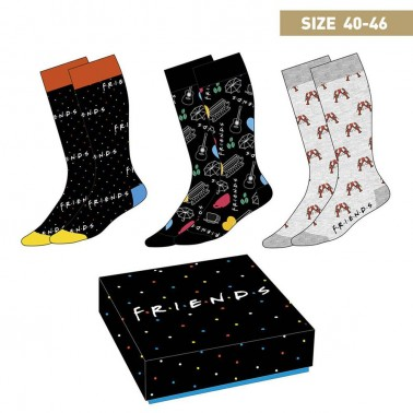 Caja regalo calcetines Friends t. 40-46