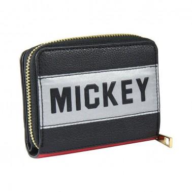 Cartera cremallera Disney Mickey Mouse color