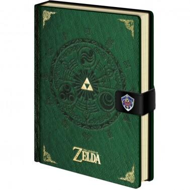 Cuaderno premium The Legend of Zelda Medallón