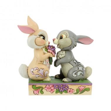 Figura Disney Bambi Tambor y Conejita