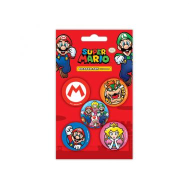 Goma de borrar Super Mario Pack 5