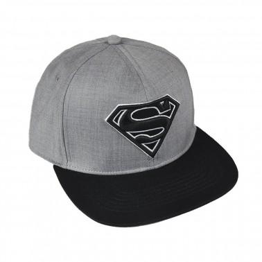 Gorra gris DC Comics Superman