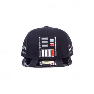 Gorra Star Wars panel armadura Darth Vader