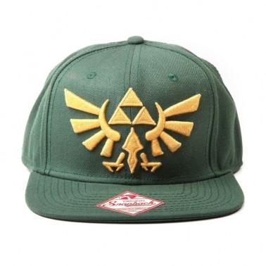 Gorra Zelda Logo Triforce Dorado