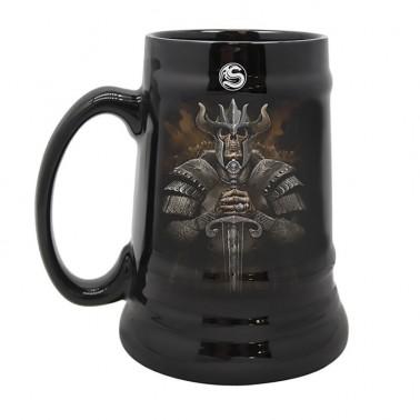 Jarra de cerámica Spiral Viking Warrior