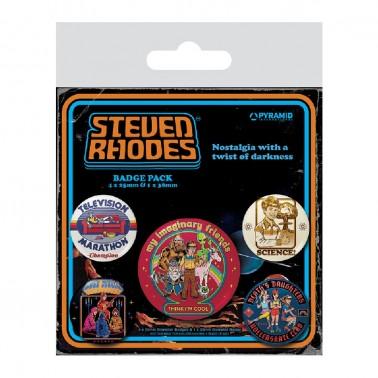 Juego de chapas Steven Rhodes Colección