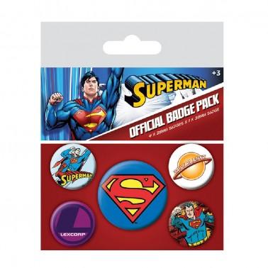 Juego de chapas Superman