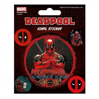 Juego de pegatinas Deadpool Pega Esto