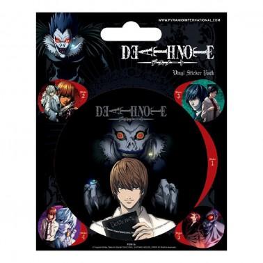Juego de pegatinas Death Note Varios