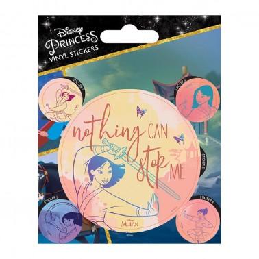 Juego de pegatinas Princesas Disney