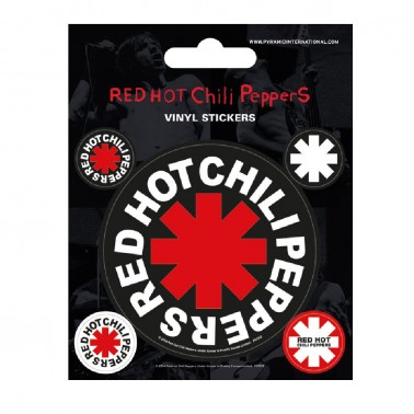 Juego de pegatinas Red Hot Chili Peppers