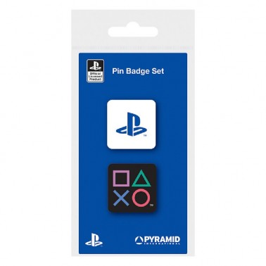 Juego de pines esmaltados PlayStation Formas