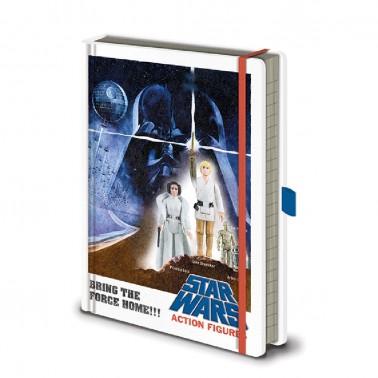 Libreta Star Wars Personajes