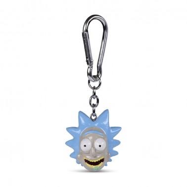Llavero 3D Poliresina Rick