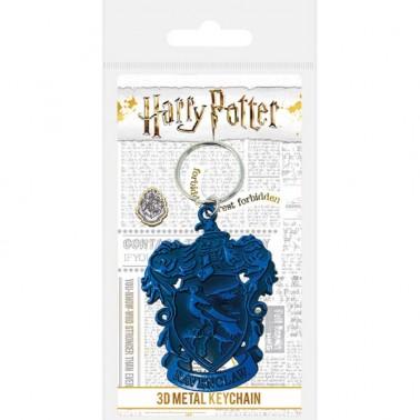 Llavero Metálico Harry Potter Escudo Ravenclaw