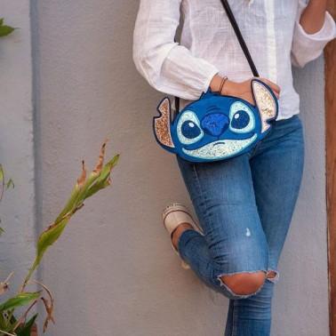 Bolso bandolera Disney Lilo & Stitch Stitch, para niños