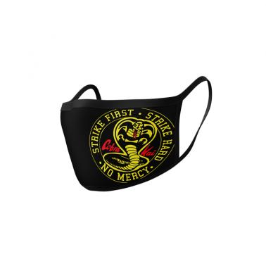 Mascarilla Cobra Kai logo