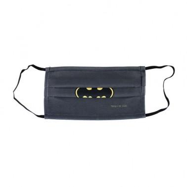 Mascarilla Higiénica Batman Gris Joven
