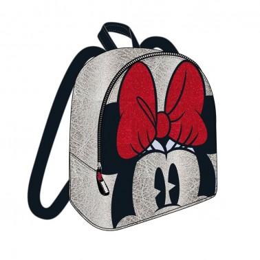 Mochila plateada Minnie Mouse