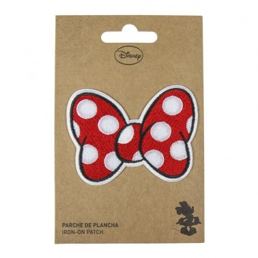 Parche lazo rojo Minnie Mouse