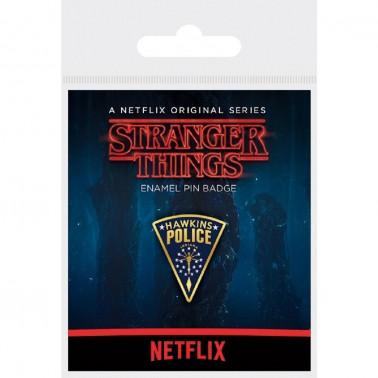 Pin esmaltado Stranger Things (Hawkins Police)