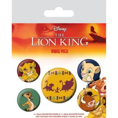 Set Chapas Disney El Rey León Hakuna Matata