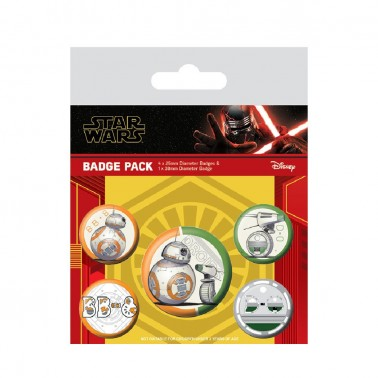 Set Chapas Star Wars The Rise of Skywalker